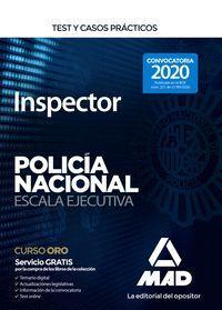 TEST Y CASOS PRACTICOS INSPECTOR POLICIA NACIONAL