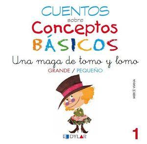 CONCEPTOS BÁSICOS - 1  GRANDE / PEQUEÑO