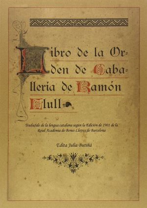 LIBRO DE LA ORDEN DE CABALLERIA
