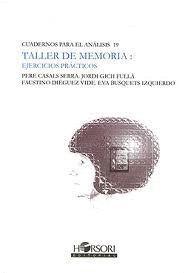 TALLER DE MEMORIA: EJERCICIOS PRÁCTICOS