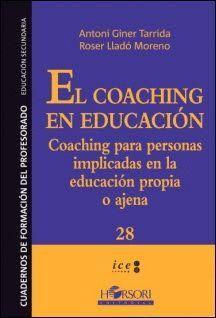 EL COACHING EN EDUCACION