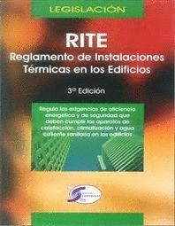 RITE, REGLAMENTO INSTALACIONES TÉRMICAS EN LOS EDIFICIOS