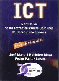 ICT. NORMATIVA DE LAS INFRAESTRUCTURAS COMUNES DE