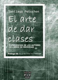 ARTE DE DAR CLASES, EL