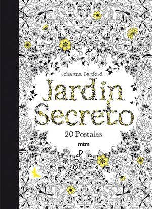 JARDIN SECRETO 20 POSTALES