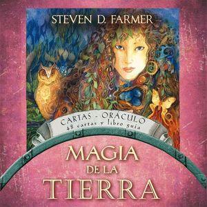 MAGIA DE LA TIERRA 48 CARTAS Y LIBRO GUIA