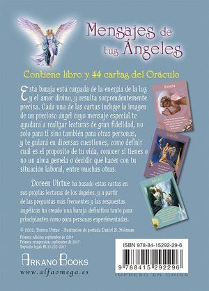 MENSAJES DE TUS ANGELES - CARTAS ORACULO