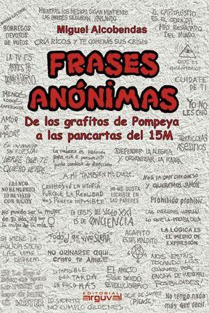 FRASES ANÓNIMAS