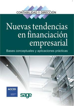 NUEVAS TENDENCIAS EN FINANCIACIÓN EMPRESARIAL