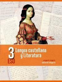 LENGUA CASTELLANA Y LITERATURA. 3º DE ESO