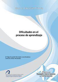 DIFICULTADES EN EL PROCESO DE APRENDIZAJE