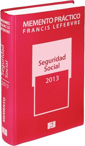 MEMENTO PRÁCTICO SEGURIDAD SOCIAL 2013