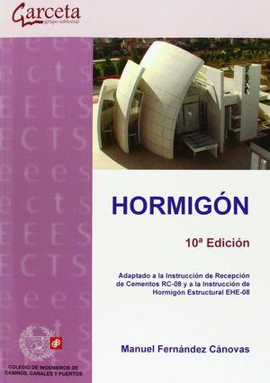 HORMIGÓN. 10ª EDICIÓN