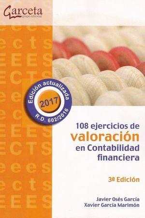108 EJERCICIOS DE VALORACION EN CONTABILIDAD FINANCIERA (3ª ED)