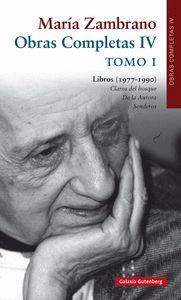 MARIA ZAMBRANO OBRAS COMPLETAS IV TOMO I