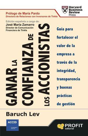 GANAR LA CONFIANZA DE LOS ACCIONISTAS
