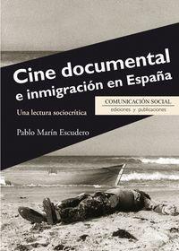 CINE DOCUMENTAL E INMIGRACIÓN EN ESPAÑA