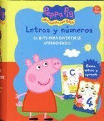 PEPPA PIG, LETRAS Y NUMEROS