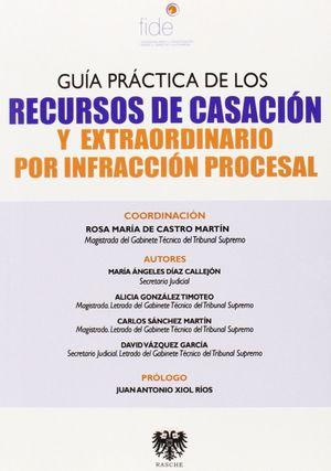 GUIA PRACTICA DE LOS RECURSOS DE CASACION