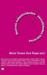 NUEVAS SUBJETIVIDADES / MASCULINIDADES LITERARIAS
