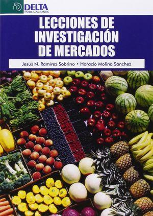 LECCIONES DE INVESTIGACIONES DE MERCADOS