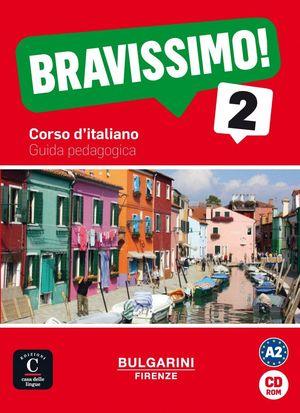 BRAVISSIMO! 2. GUIDA PEDAGOGICA CD-ROM