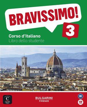 BRAVISSIMO 3 B1 - LIBRO DELLO STUDENTE + CD