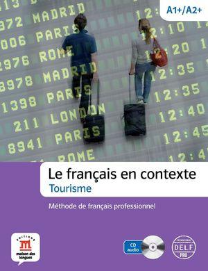 LE FRANCAIS EN CONTEXTE A1+/A2+ +CD DELF PRO