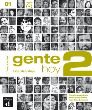 GENTE HOY 2 (B1) LIBRO DE TRABAJO +CD