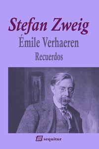 EMILE VERHAEREN - RECUERDOS