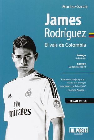 JAMES RODRIGUEZ. EL VALS DE COLOMBIA
