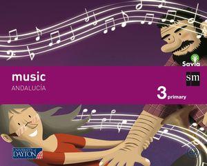 MUSIC. 3 PRIMARY. SAVIA. ANDALUCÍA