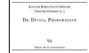 DE DIVINA PROPORTIONE