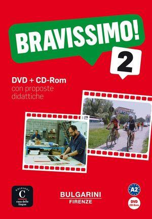 BRAVISSIMO! A2 - DVD + CD-ROM