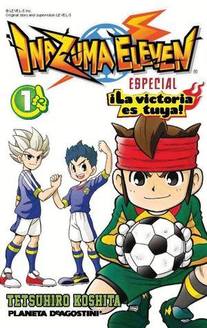 INAZUMA ELEVEN ¡LA VICTORIA ES TUYA! Nº 01/02