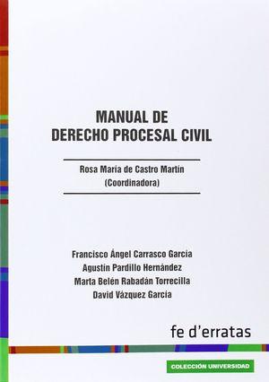 MANUAL DE DERECHO PROCESAL CIVIL