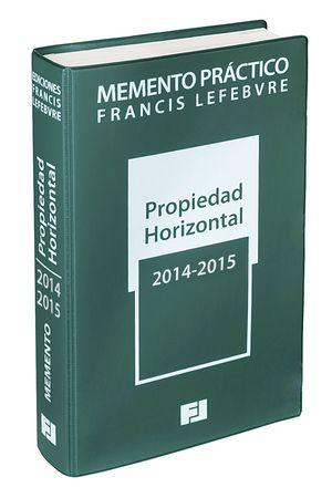 MEMENTO PRÁCTICO PROPIEDAD HORIZONTAL 2014-2015
