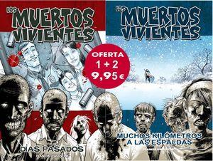 LOS MUERTOS VIVIENTES Nº01+Nº 02 (PACK ESPECIAL)