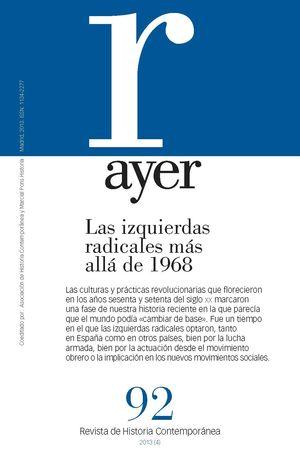 IZQUIERDAS RADICALES MÁS ALLÁ DE 1968, LAS (AYER 92)