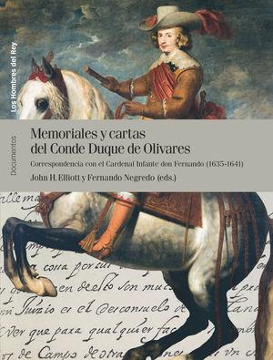 MEMORIALES Y CARTAS DEL CONDE DUQUE DE OLIVARES (VOL. II)