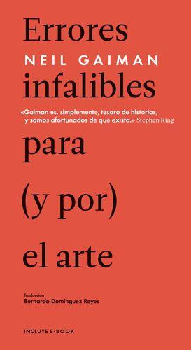 ERRORES INFALIBLES PARA (Y POR) EL ARTE