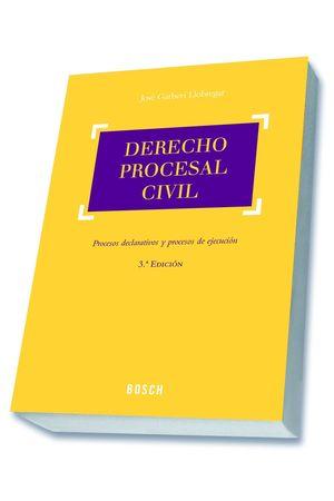 DERECHO PROCESAL CIVIL (3.ª EDICIÓN)