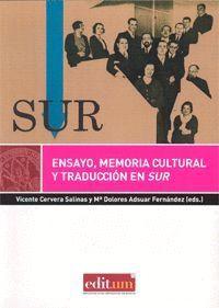 ENSAYO, MEMORIA CULTURAL Y TRADUCCION EN SUR