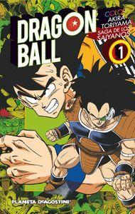 DRAGON BALL COLOR Nº01