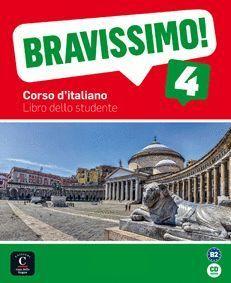 BRAVISSIMO 4 B2 LIBRO DELLO STUDENTE + CD