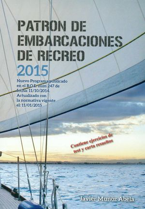 PATRON DE EMBARCACIONES DE RECREO 2015