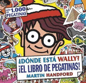DONDE ESTA WALLY? ¡EL LIBRO DE PEGATINAS!