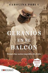 GERANIOS EN EL BALCÓN