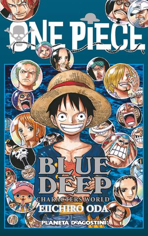 ONE PIECE BLUE DEEP (CHARACTERS WORLD)