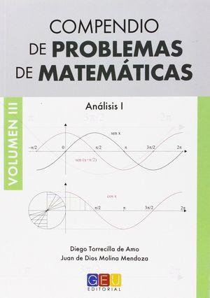 COMPENDIO DE PROBLEMAS DE MATEMATICAS VOLUMEN III